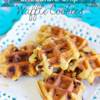 Chocolate Chip Waffle Cookies Recipe
