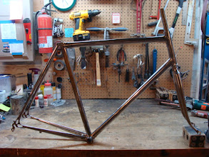 Photo: Finished frame and fork!