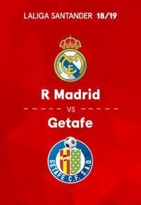 LaLiga Santander. Temporada 18/19. Real Madrid-Getafe