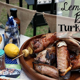 Lemon-Lime Brined Turkey Legs
