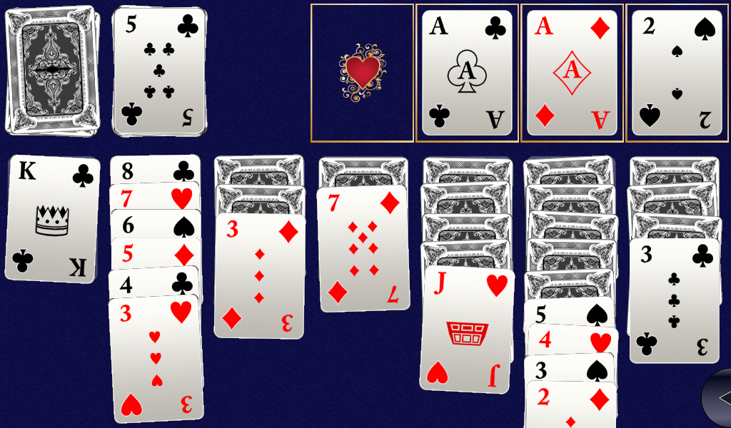 Ultimate Klondike Solitaire 3D- screenshot