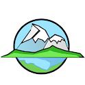 ALPS mountain map