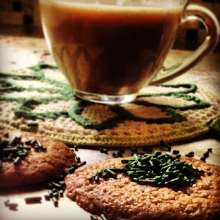 There ain't no malarkey about these; Irish Coffee and Cookies.