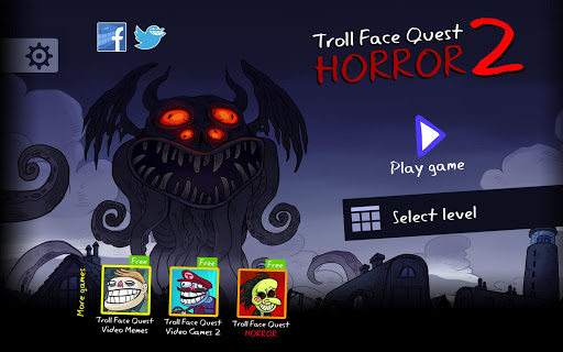 Troll Face Quest Horror 2 : ?Spécial Halloween?  captures d'écran 6
