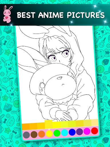 Kawaii - Anime Animated Coloring Book 2.6 screenshots 7