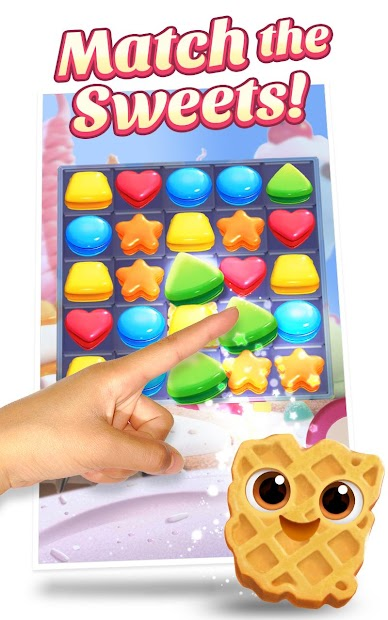 Cookie Jam Blast™ New Match 3 Game | Swap Candy Android App Screenshot