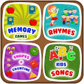 Kids ABC Learning, Nursery Rhyme, Memory Game 2019