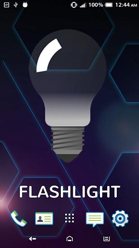Super LED Flashlight Widget