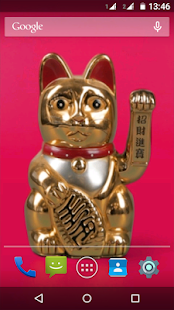 Download Maneki Neko - Lucky Cat LWP APK for Android