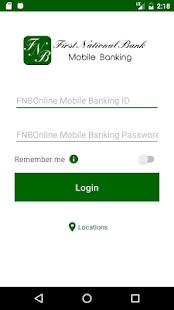 FNBOnline Mobile Banking - náhled