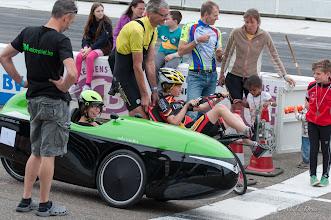 Photo: En dan nog een verassing: een extra 'snelste ronde' met de snelste jongen tegen het snelste meisje.