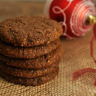 Big & Soft Paleo Ginger Molasses Cookies