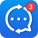 Mobile Messenger: All-in-one Chat, No Blue Ticks icon