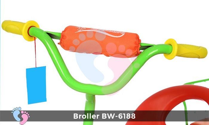 Xe đạp đẩy ba bánh Broller XD3-6188 11