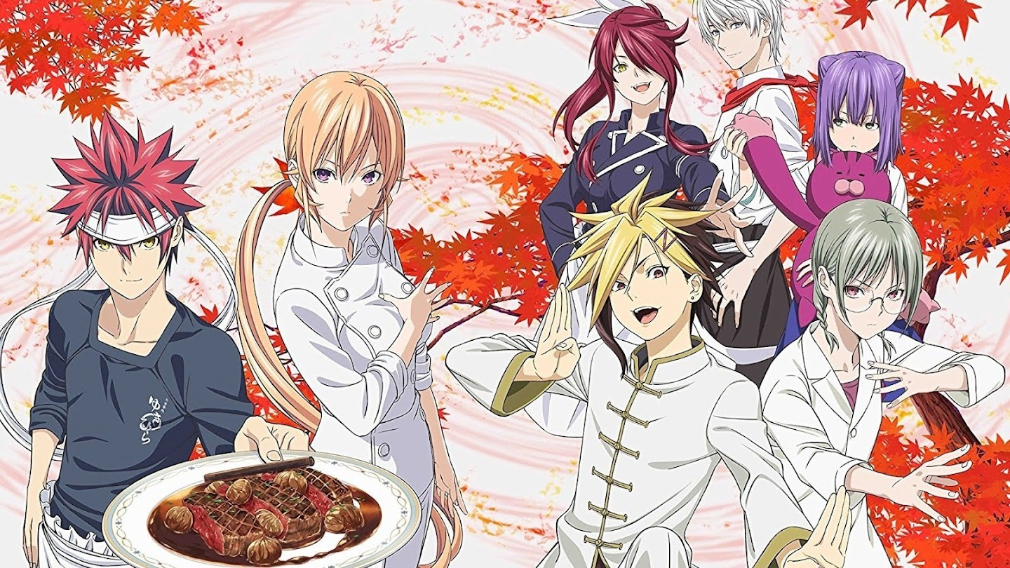 Watch Food Wars! The Third Plate live