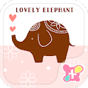 Lovely Elephant  wallpaper- icon