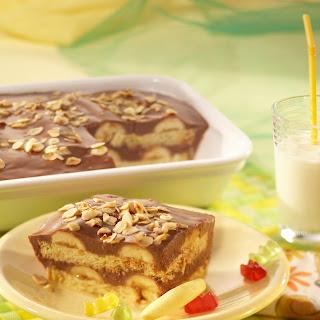 Schoko-Bananen-Lasagne