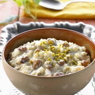 Spiced Creamy Rice Dessert.
