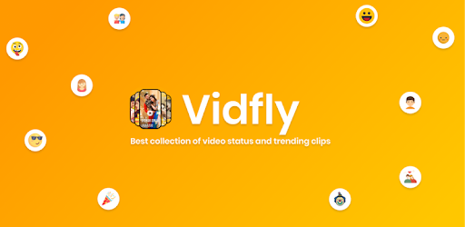 Full Screen Video Status for Whatsapp - VidFly - Apps on