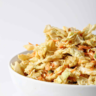 No Mayo Honey Mustard Coleslaw Recipe