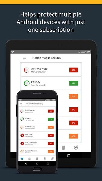 Download APK: Norton Security and Antivirus with Call Blocking v4.7.0.4450 [Premium]