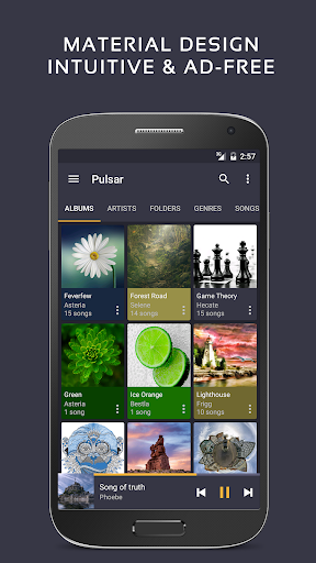 Pulsar Music Player - Mp3 Player, Audio Player 1.9.1 screenshots 1