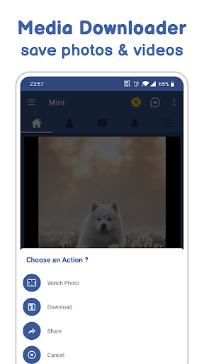 Mini Social - Your Social Network for Facebook 2.0.0 screenshots 7