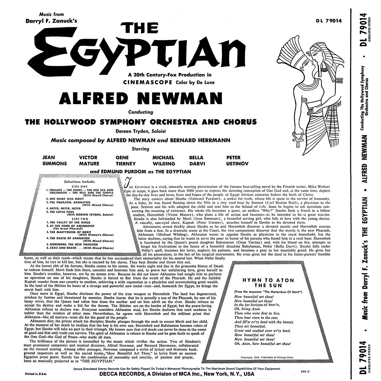 Bernard Herrmann, Alfred Newman