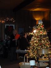 Photo: Christmas Carols around the piano