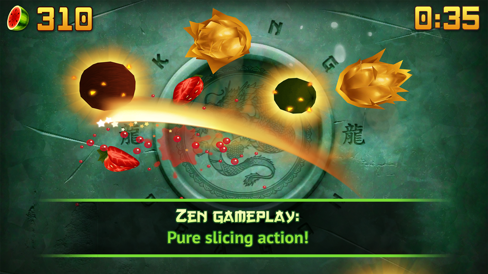Fruit Ninja Classic- screenshot