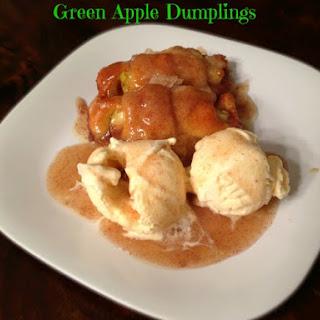 Green Apple Dumpling.