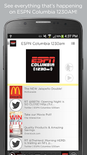 ESPN Columbia 1230 AM- screenshot thumbnail