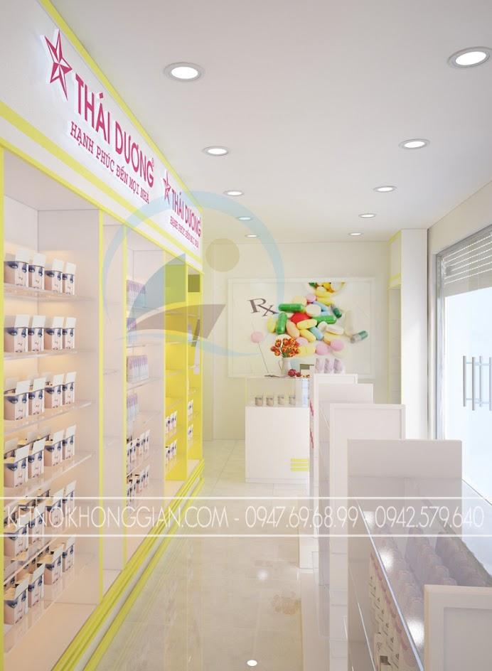 thiết kế nhà thuốc đẹp