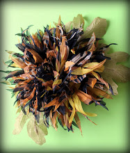 Photo: Хризантема. Цветы из ткани