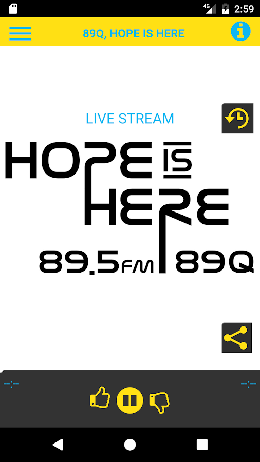 89Q Hope is Here- screenshot
