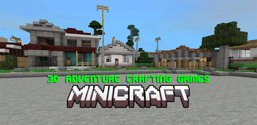 MiniCraft: 3D Adventure Crafting Games APK