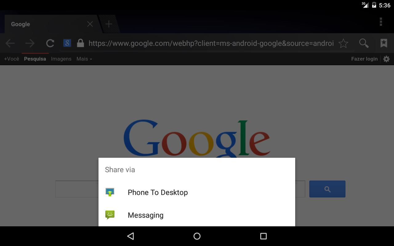Phone To Desktop- screenshot