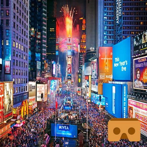 Time Square New Year 360 VR