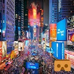 Time Square New Year 360 VR Icon