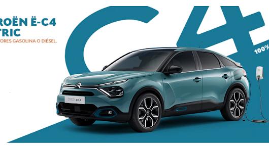 Llévate el nuevo C4 en Citroën Salinas Car por 195 euros al mes
