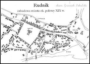Photo: Plan Rudnika z połowy XIX wieku