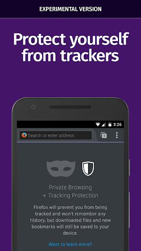 Firefox Nightly for Developers screenshot 3
