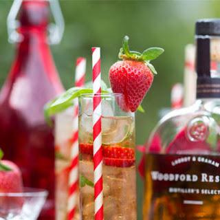 Strawberry Basil Julep.