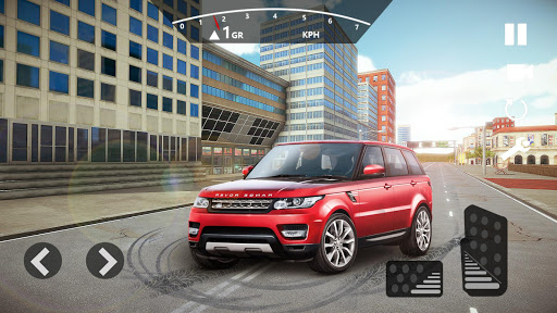 Crazy Car Driving & City Stunts: Range Rover Sport  captures d'écran 1