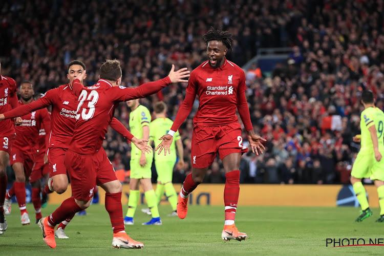 📷 Carabao Cup : Match fou entre Liverpool (Origi auteur d'un doublé) et Arsenal, Batshuayi marque contre Man U