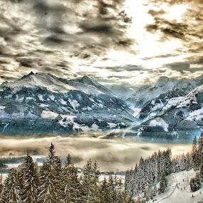 by Andrew Balsillie - Landscapes Mountains & Hills ( , snow, white, quality, detail, landscapes, HDR, Landscapes )