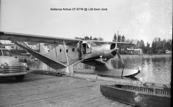 Photo: Lac du Bonnet town dock.