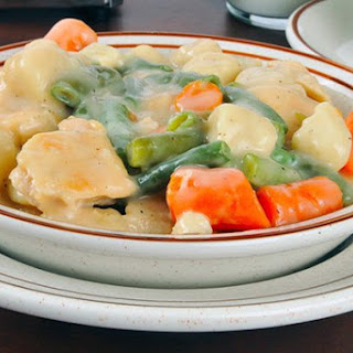 Slow Cooker Chicken and Dumplings.