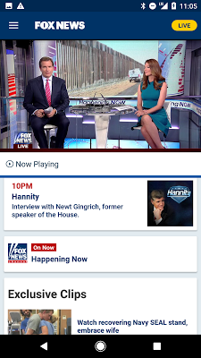 Fox News – Breaking News, Live Video & News Alerts - screenshot