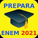 Prepara ENEM 2020/2021 (Simulado e Redação) icon